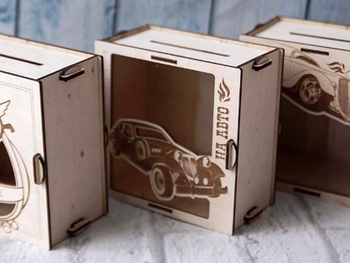 Laser engraving solutions for wooden crafts