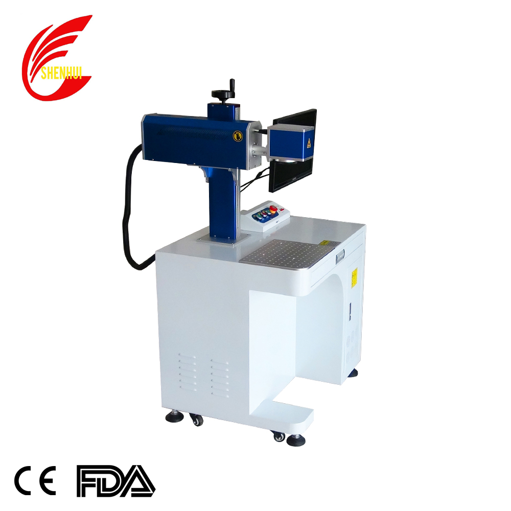 20w 30W co2 laser marking machine for metal plastic